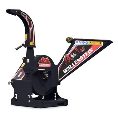 3PH 3.5IN CAPACITY CHIPPER