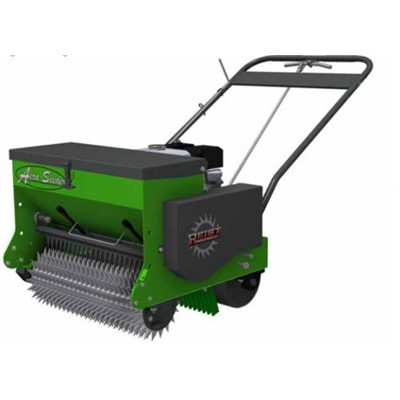 24IN Self Propelled Aeraseeder Front Co>