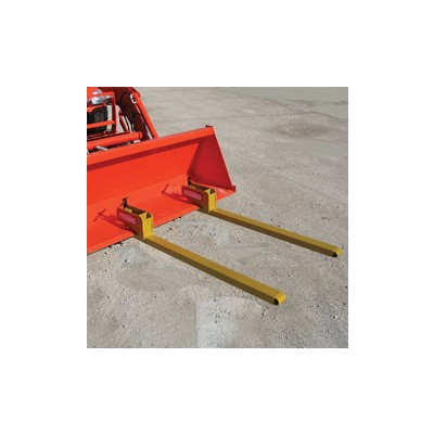 BF-4000 CLAMP-ON BUCKET PALLET FORKS – 4
